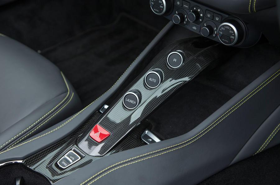 Ferrari California T automatic gearbox