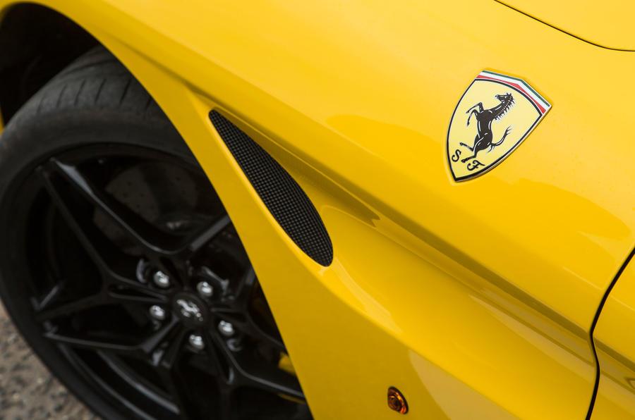 Ferrari California T air vent