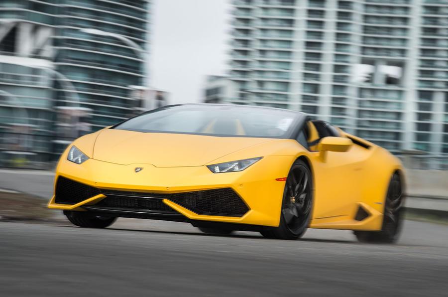 £205,000 Lamborghini Huracan Spyder
