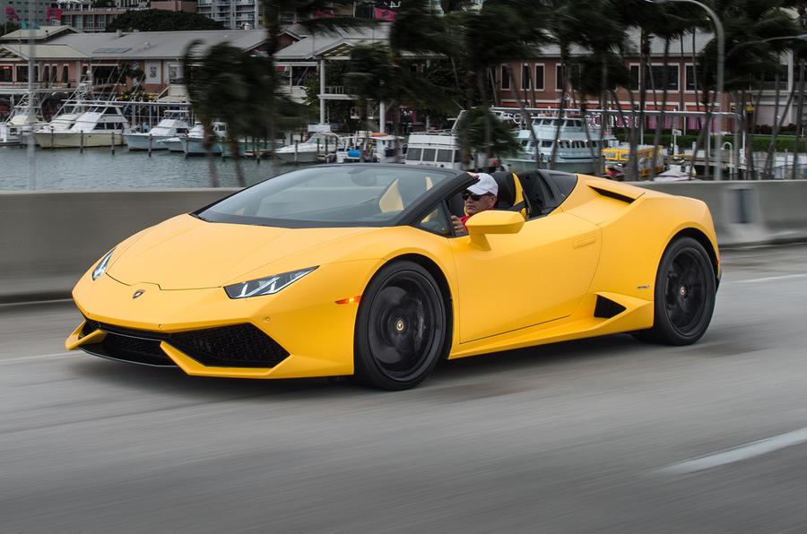 602bhp Lamborghini Huracan Spyder