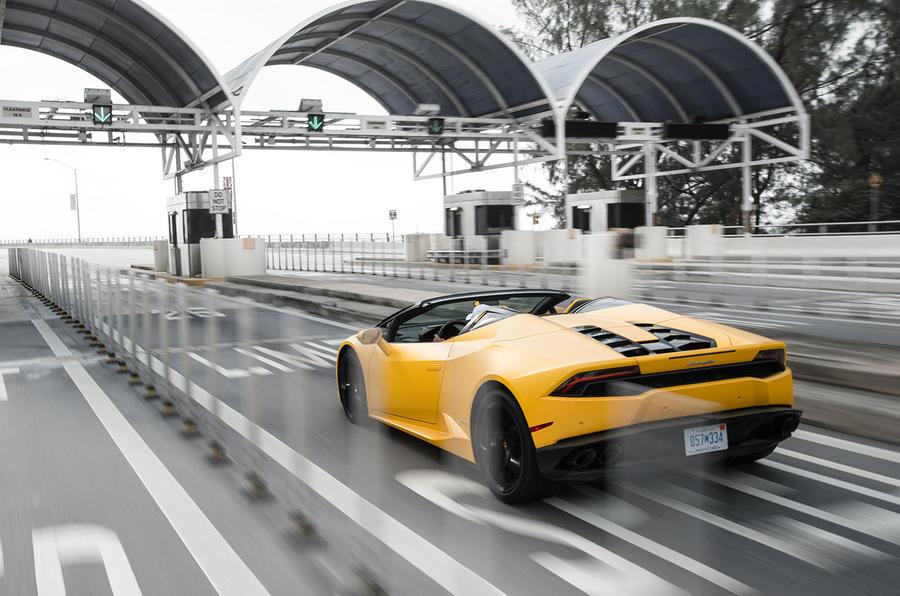 201mph Lamborghini Huracan Spyder