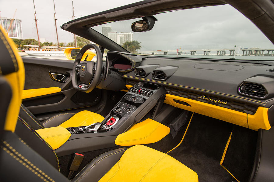 2016 lamborghini hurac n lp610 4 spyder review review autocar. Black Bedroom Furniture Sets. Home Design Ideas