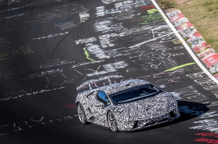 Marco Mapelli on his record breaking Lamborghini Huracan Performante lap