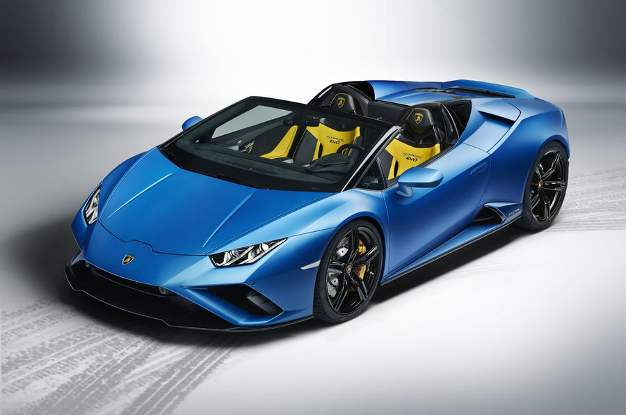 Automobili Lamborghini launches the new Huracán EVO RWD Spyder using Augmented Reality