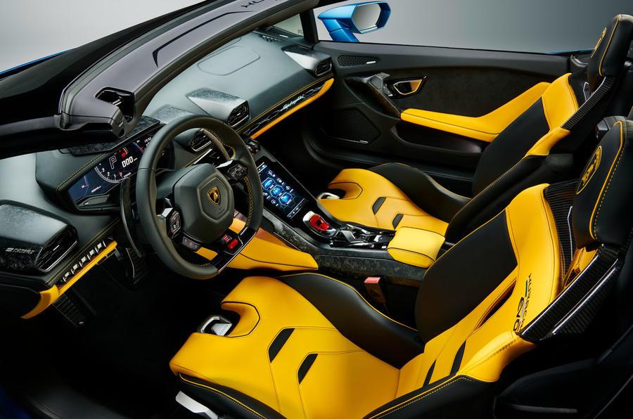 2020 Lamborghini Huracan Spyder - interior