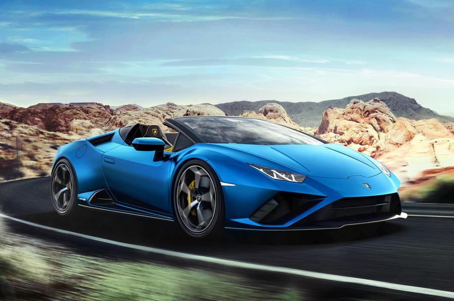 2020 Lamborghini Huracan Spyder - hero front