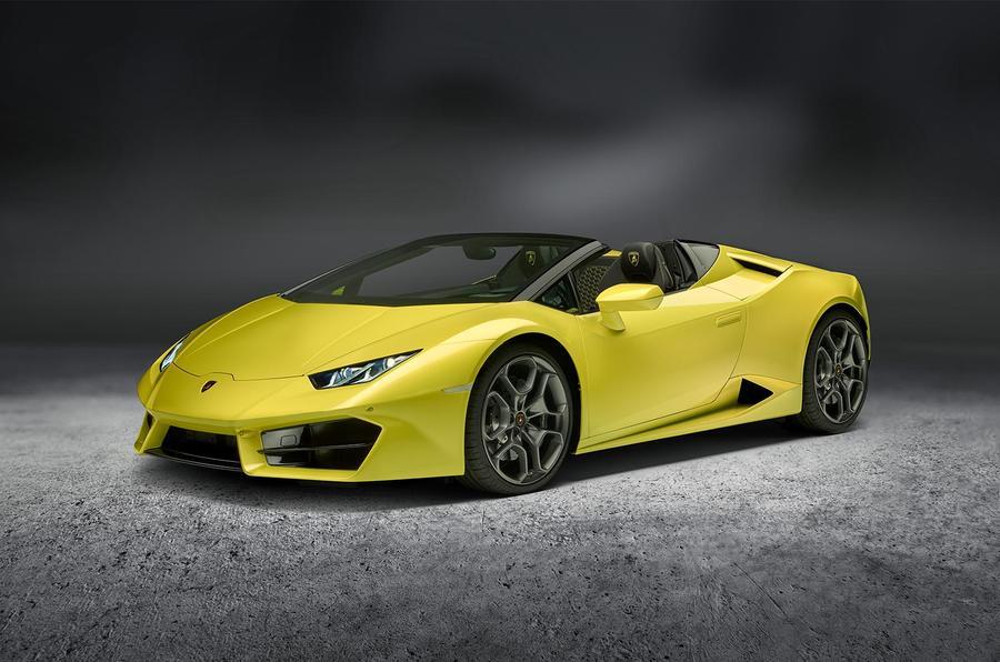Lamborghini Huracan rear-wheel drive Spyder revealed in LA