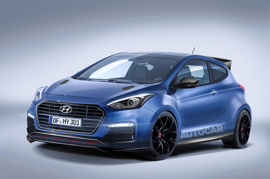 Hyundai mega-hatch as imagined by Autocar