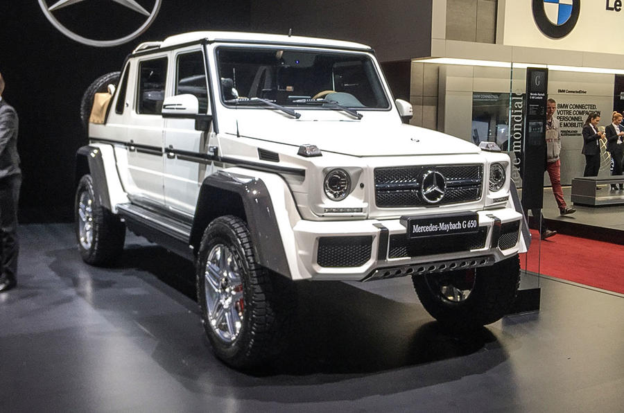 mercedes-maybach g650 landaulet arrives as swansong to current g