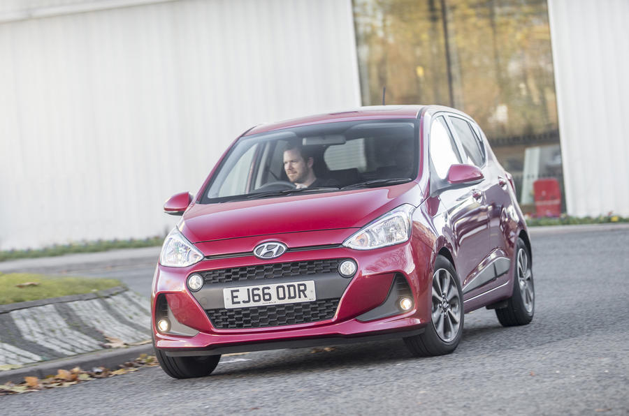 Hyundai i10 nearly-new buying guide - front