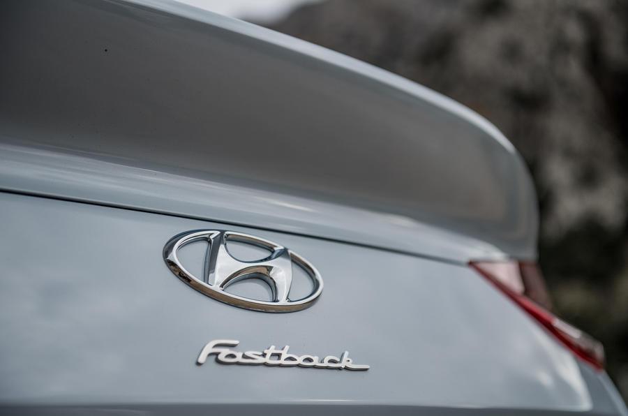 Hyundai i30 Fastback badging
