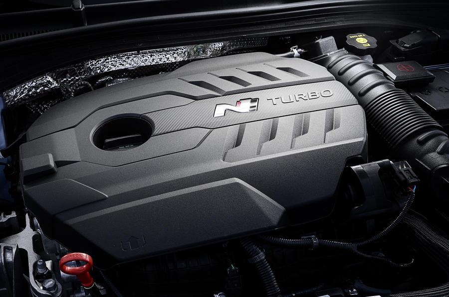 2.0 T-GDi Hyundai i30N engine