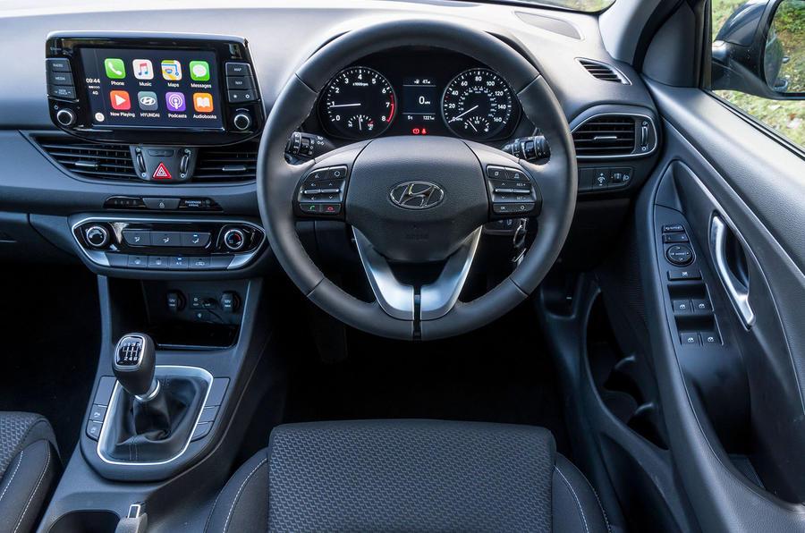 2017 Hyundai i30 1.0 T-GDi 120 SE Nav interior