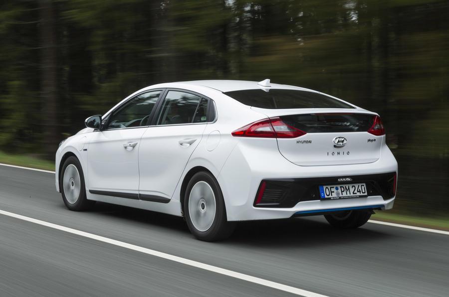 Hyundai Ioniq Plug-in rear quarter