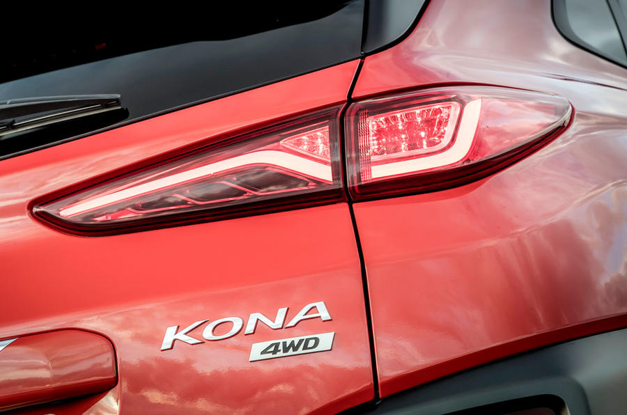 Hyundai Kona close-up rear