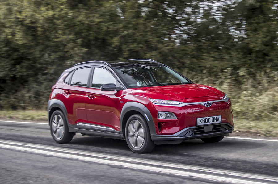 hyundai kona electric premium se 64kwh 2018 uk review autocar. Black Bedroom Furniture Sets. Home Design Ideas