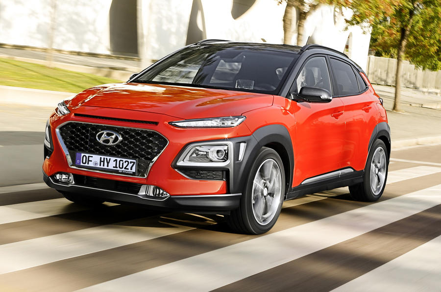 hyundai kona 1 0 t gdi premium se 2017 review autocar. Black Bedroom Furniture Sets. Home Design Ideas