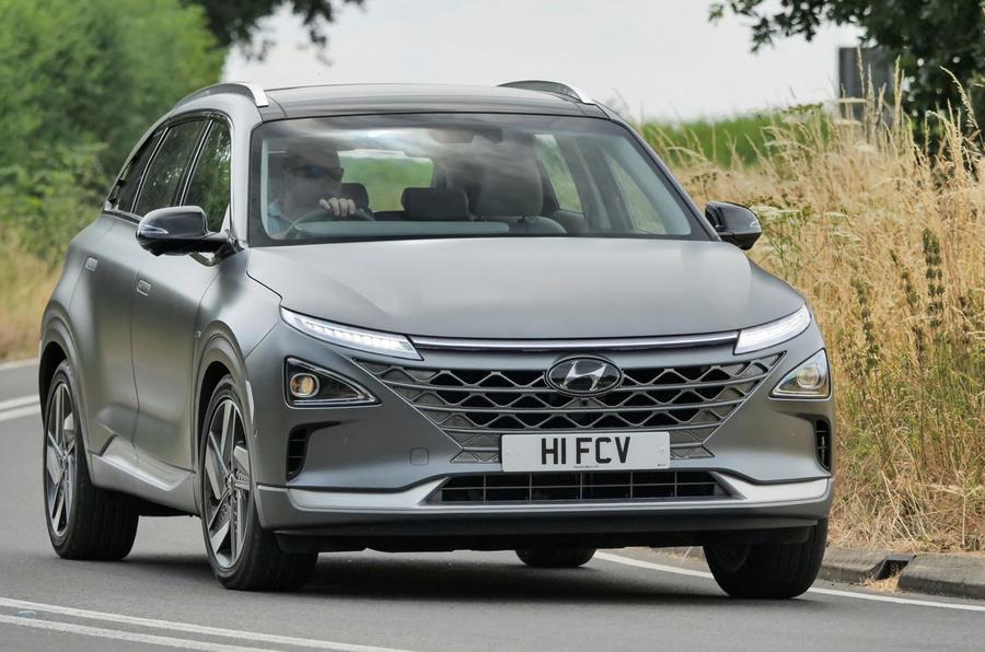 Hyundai Nexo 2018 Uk Review Autocar