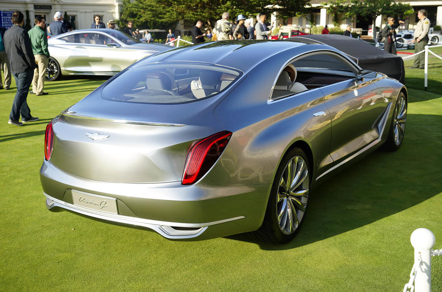 Dick Smith Nissan >> Hyundai Vision G Concept previews new Genesis Coupé ...