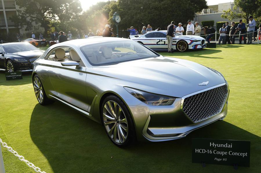 Hyundai Vision G Concept Previews New Genesis Coup 233