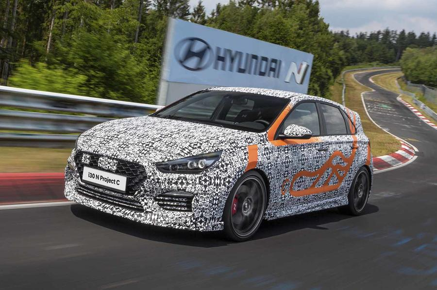 Hyundai I30 N Project C front side