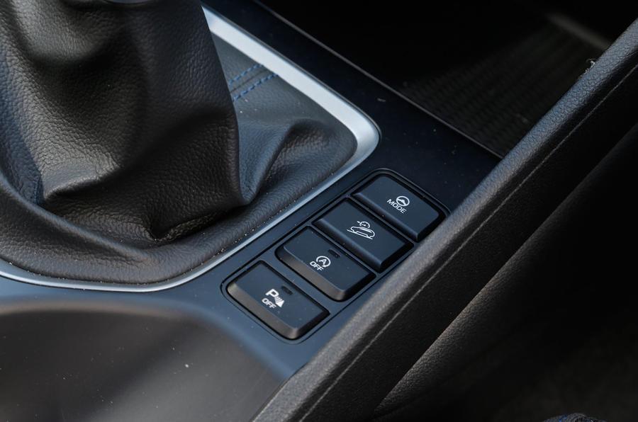 Hyundai Tucson dynamic modes