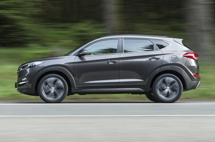 £18,500 Hyundai Tucson 1.6 T-GDI