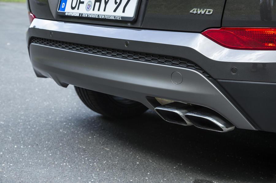 Hyundai Tucson rear diffuser