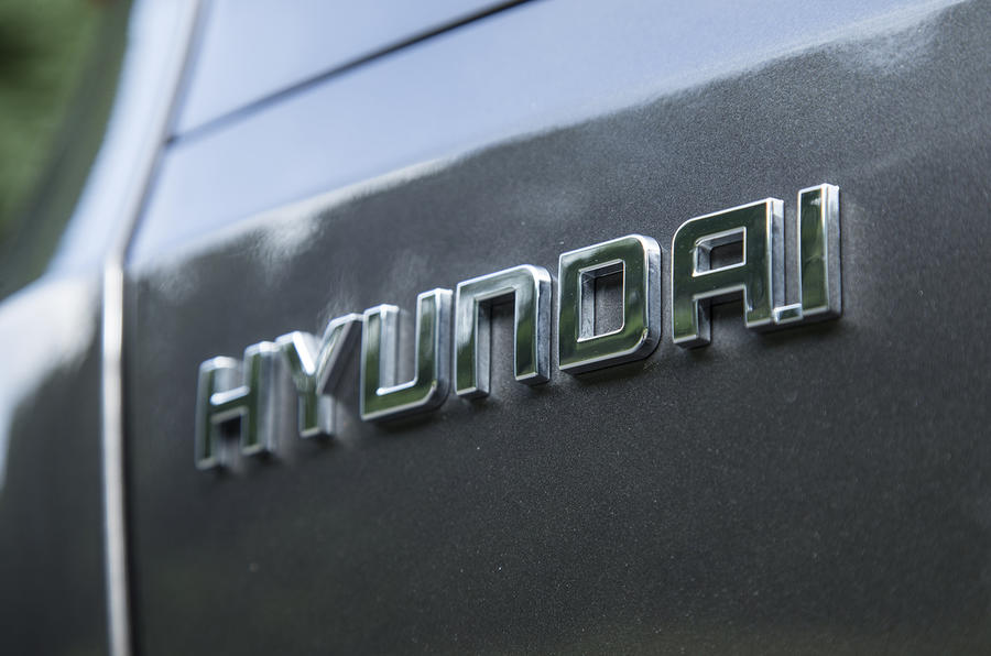 Hyundai rear badge
