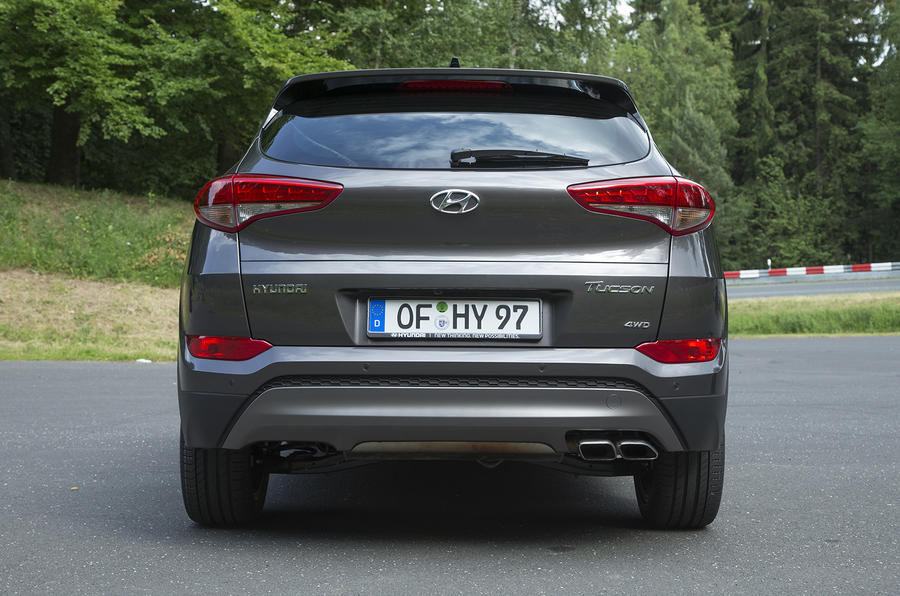 Hyundai Tucson rear end