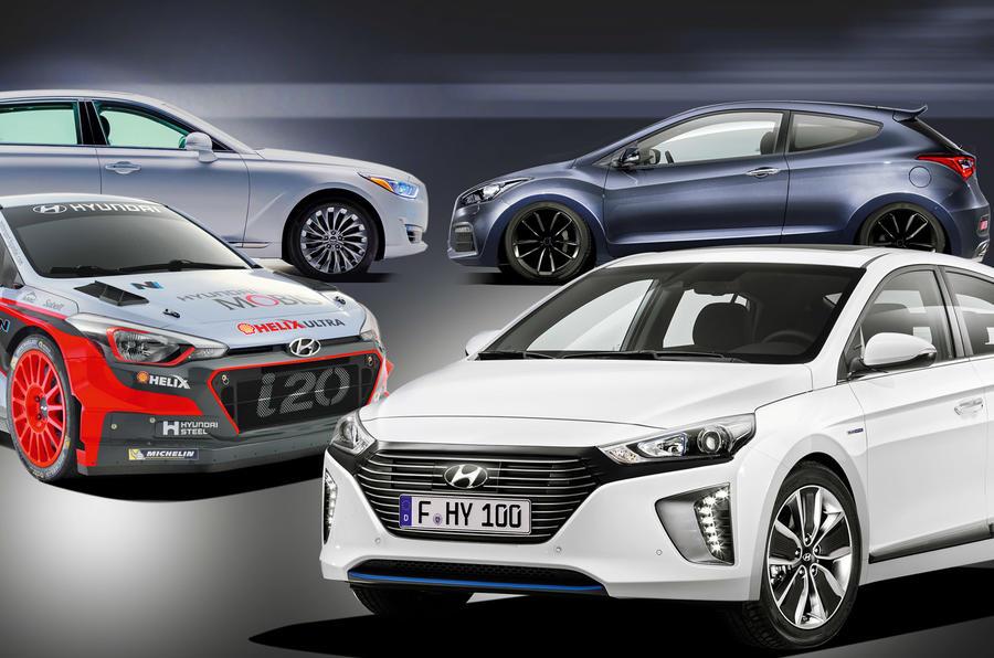 Hyundai models