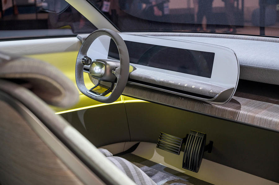 Hyundai Concept 45 at Frankfurt - interior