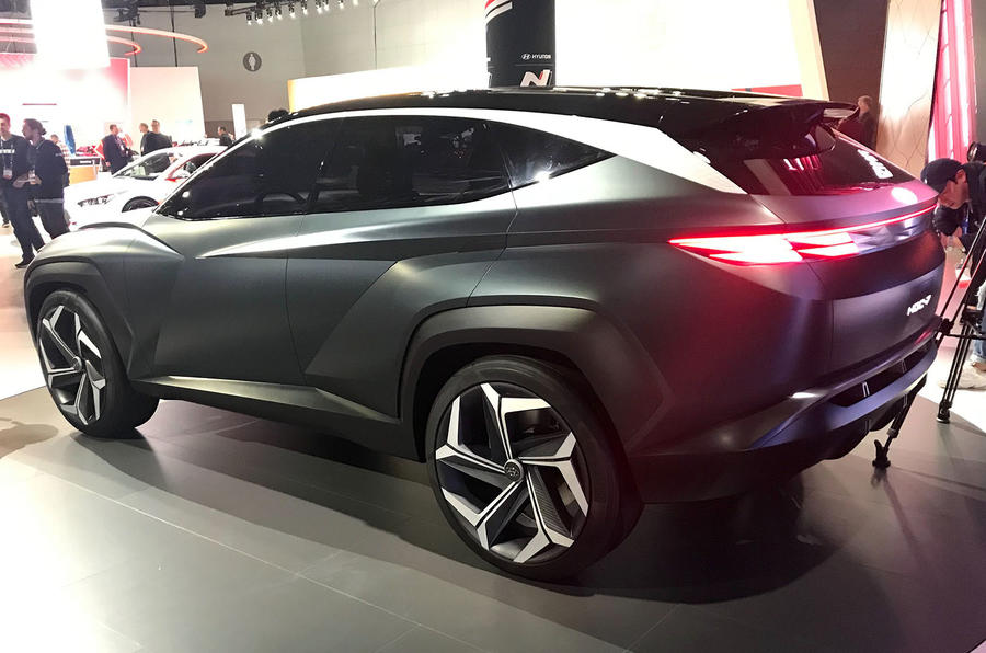 Hyundai Concept T at the LA motor show - rear
