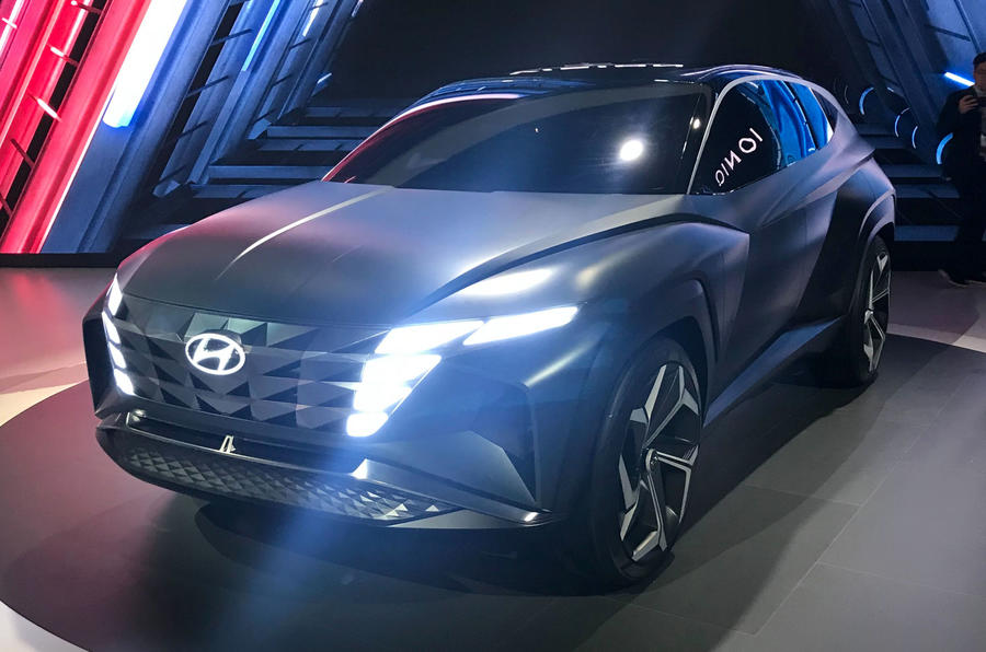 Hyundai Concept T at the LA motor show - front