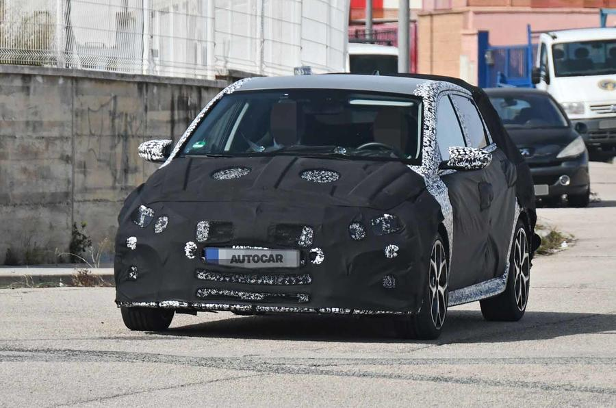 Hyundai i20 N spyshot front close