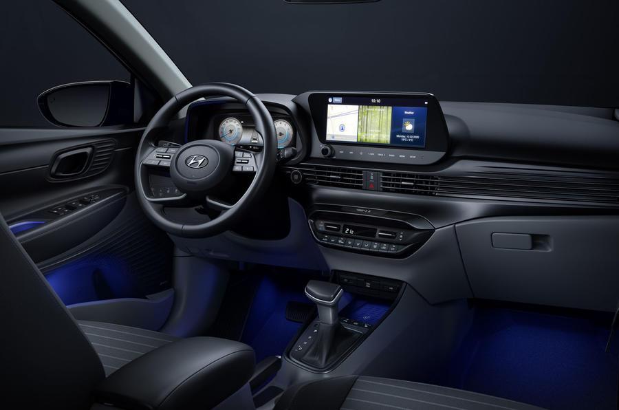 2020 Hyundai i20 unveiling - dashboard