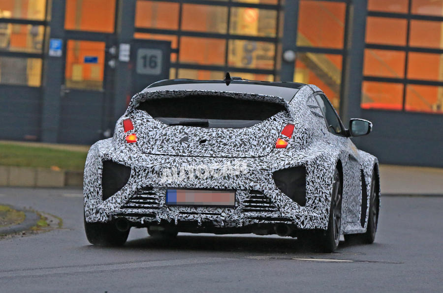 Hyundai RM16 N test mule spotted - rear