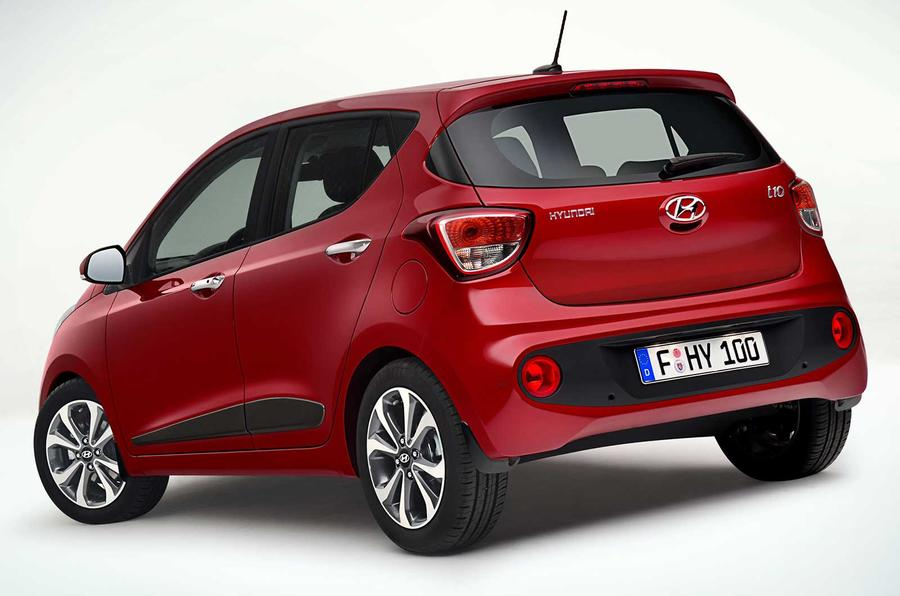 Facelifted Hyundai I10 On Sale In January Priced From 9250