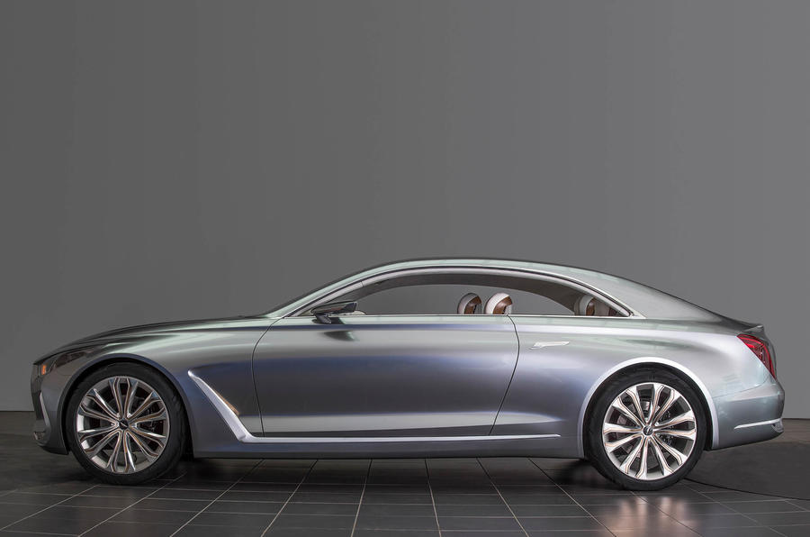 Pebble Beach Car Show >> Hyundai Vision G Concept previews new Genesis Coupé ...