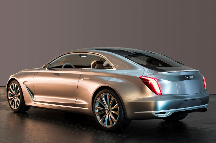 Hyundai Vision G Concept Previews New Genesis Coupé   Updated | Autocar