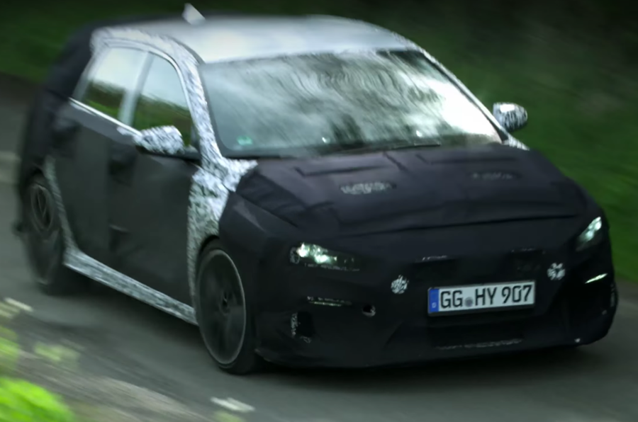 Hyundai i30 N hot hatch development continues on UK's roughest roads
