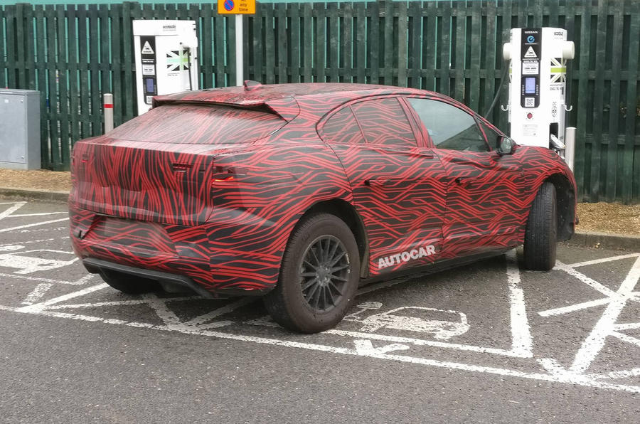 Jaguar I-Pace spied testing in production form