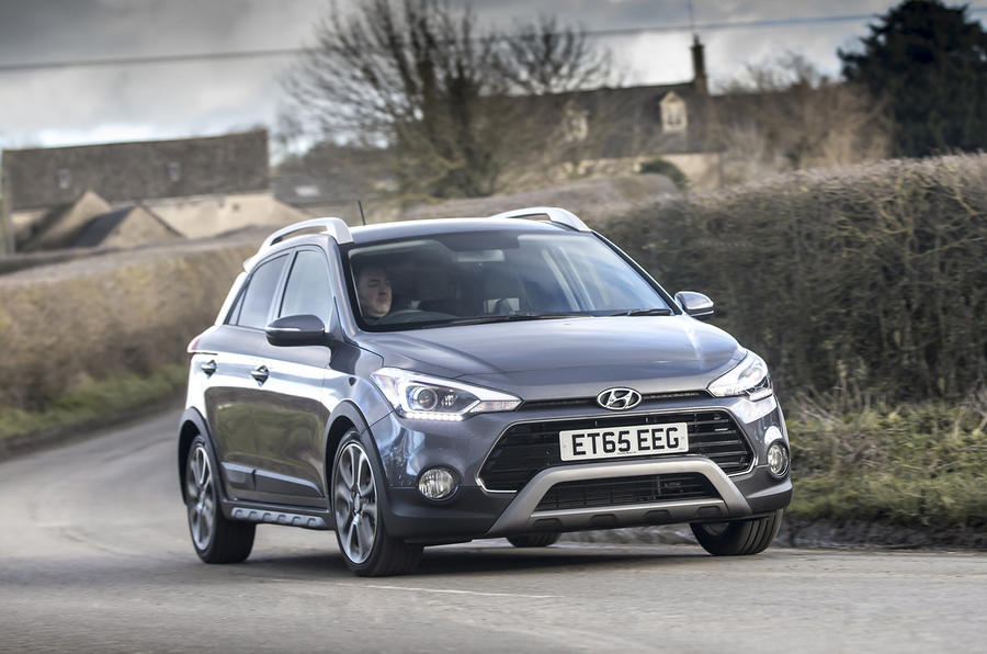 2016 hyundai i20 active 1 0 t gdi 100 review review autocar. Black Bedroom Furniture Sets. Home Design Ideas