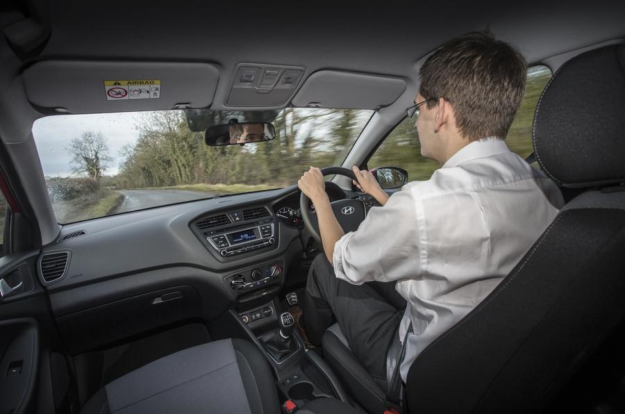 Driving the Hyundai i20 Active