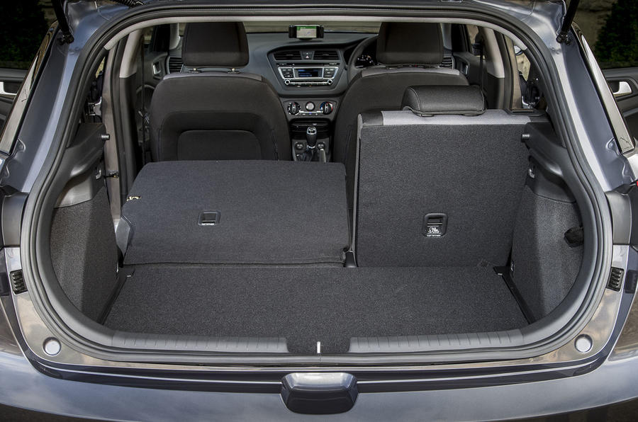 Hyundai i20 Active seating flexibility