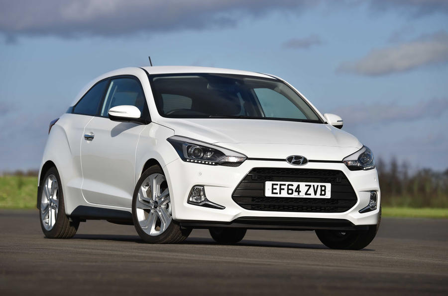 The Hyundai i20 Coupe will go on sale on 26 march 2015