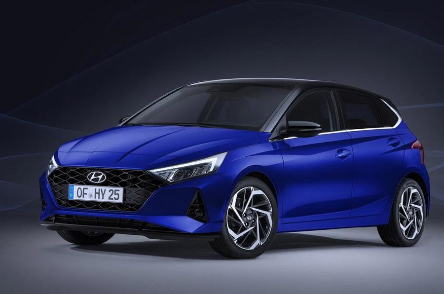 2020 Hyundai i20 leaked images - front