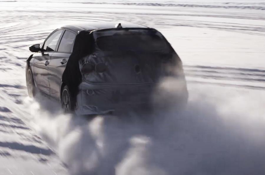2021 Hyundai i20 N prototype - rear