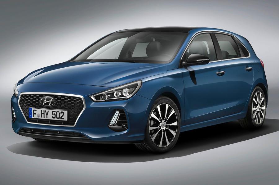 First peek at Hyundai's new Golf challenger