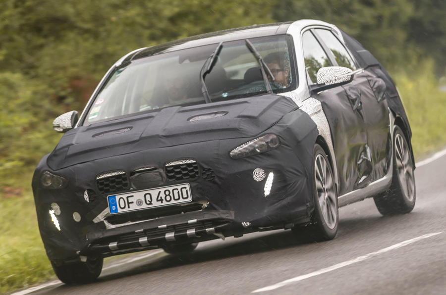 Hyundai i30 1.4 Turbo prototype